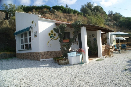 Rustic finca with sea views,pool and horse stables in Torrox, Málaga