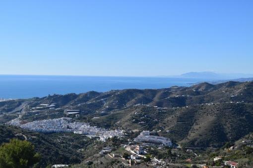 Beeindruckender Ausblick auf die Umgebung und die Berge