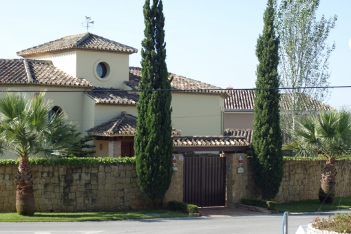 The free standing villa