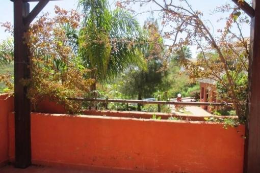Blick auf Terrasse