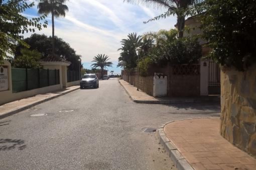 Die Anfahrt zur Villa