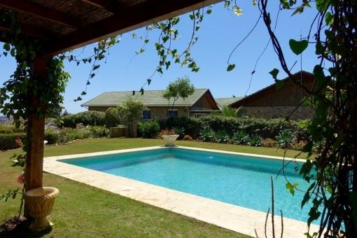 Das private Schwimmbad