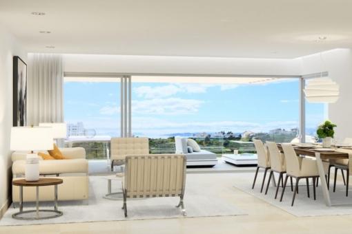 Wunderschön gestalteter Wohnbereich