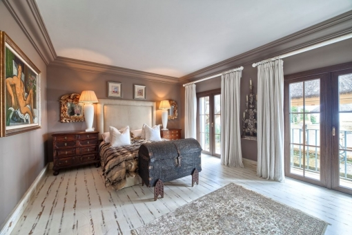 Alternativer Blick vom Gästezimmer