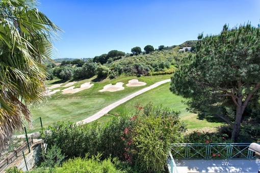 The plot with beautiful views and golf course