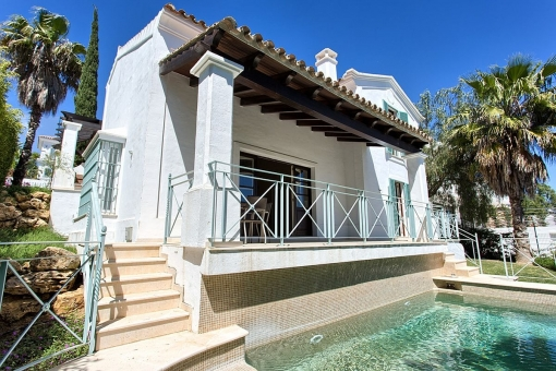 Beautifully designed golf front family home in Cala Golf