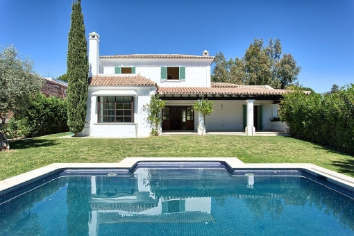 Fantastic villa close the golf court of MIjas...