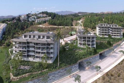 Ansicht des Anwesens von der Straße
