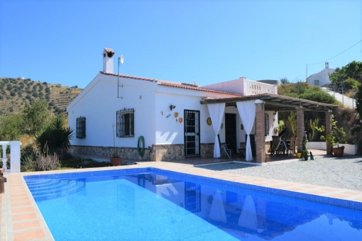 Traditional finca with sea views in Torrox, Málaga