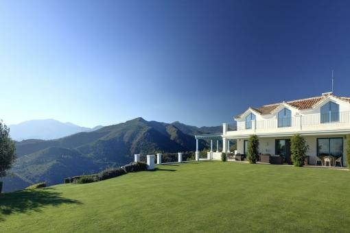 Die Villa bietet Ruhe und Privatsphäre