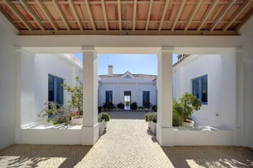 Patio im andalusischen Stil