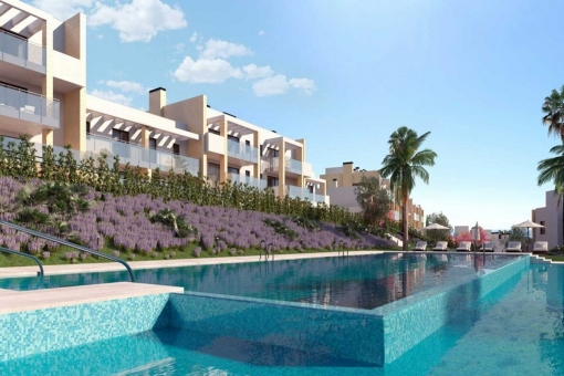 Brand new ground floor apartment close to beach in Casares