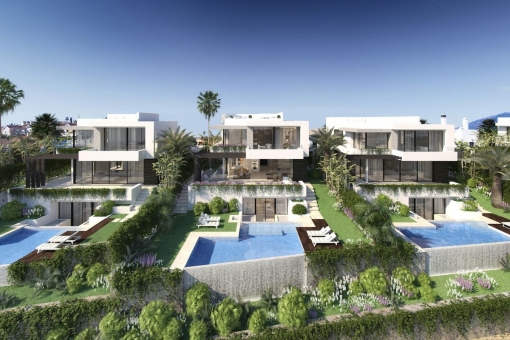 Fantastic off plan villa with 4 bedrooms and Breeam certification and close to golf course in Benahavis