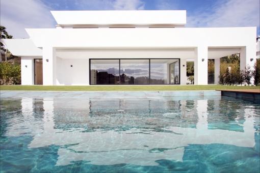 Brand new impressive villa in Benahavís