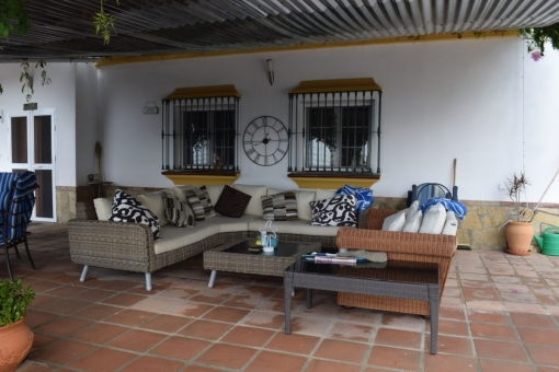Terrace with lounge area
