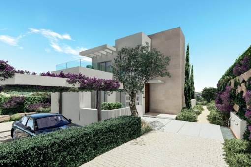 Fantastic villa with 3 bedrooms and an impressive view right at the golf course in Estepona