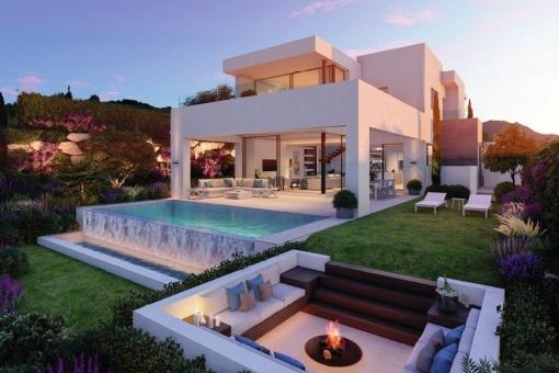 Luxuriöse Villa am Golfplatz in Estepona