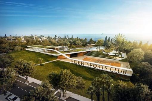 Inviting sports center