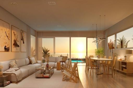 Sunlit living area
