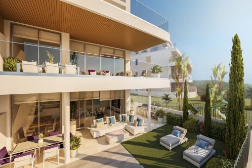 Wohnung in Mijas