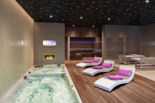 Cosy spa area