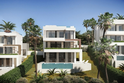 Unbeatable price for this off plan modern 3 bedrooms villa in La Cala de Mijas