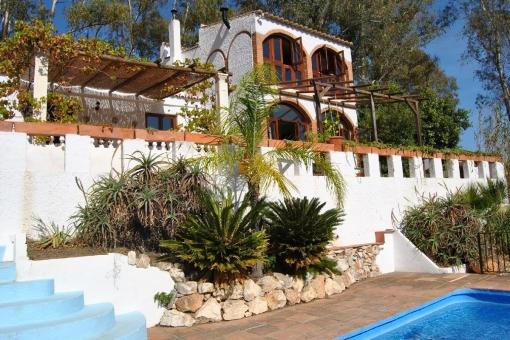 house in Cómpeta