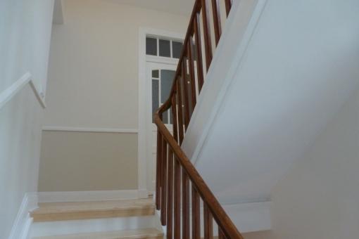 Gepflegter Treppenaufgang