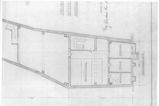 Plan of the shop