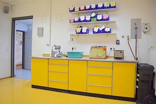 Ein weiteres Labor