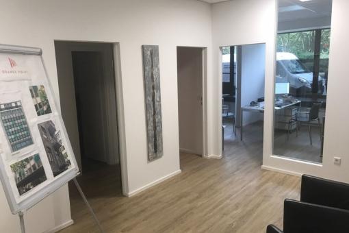 Bürofläche im Erdgeschoss
