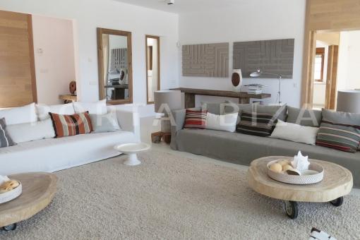 livingroom-luxury property-sunset views-cala tarida