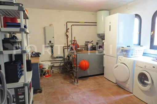 boiler room-wonderful house at Can Germa-great sea view
