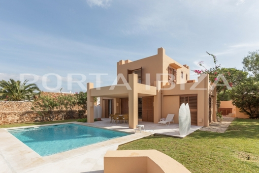 villa in Caló d'en Real