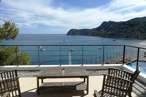 Stunning sea view terrace