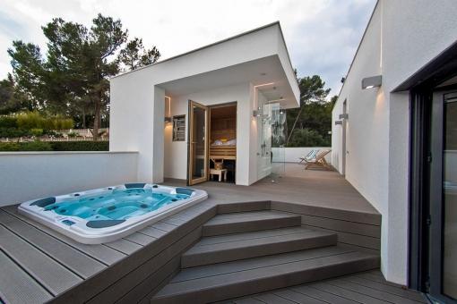 Fantastic spa area with sauna