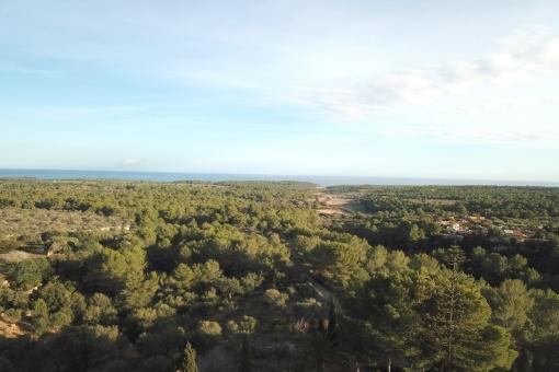 Fantastischer Panorama-Meerblick