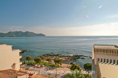 Penthouse with spacious roof terrace and delightful views of the and Costa de los Pinos