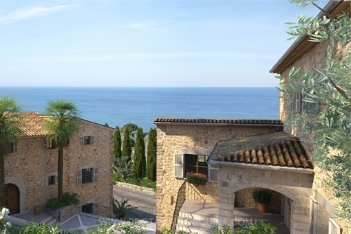 Magnificent property in Deia with spectacular views only a few minutes away from the sea