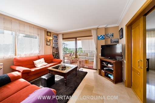 Living room with access to the balcony