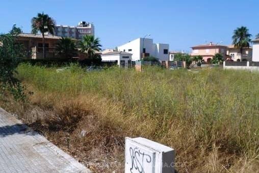 Baugrundstück an der Playa de Palma
