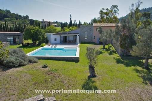 Architect finca with fantastic views over Arta