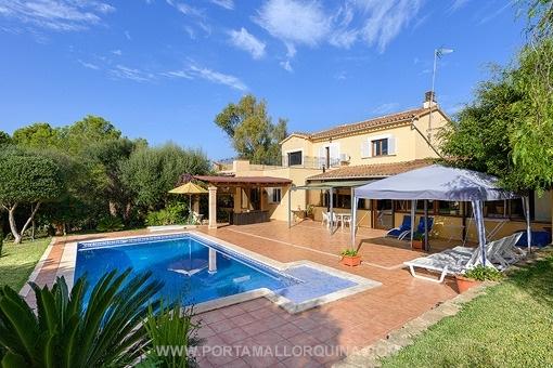 Spacious villa in Santa Ponsa with pool