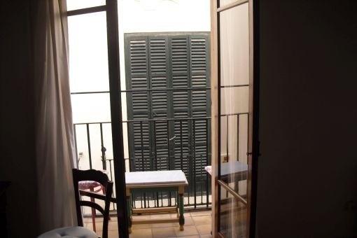 Balkonzugang vom Wohnbereich