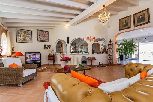 Cosy living area