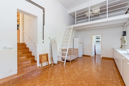 Abstellraum der Villa