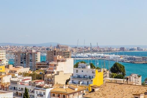 Traumhafter Blick auf Palma