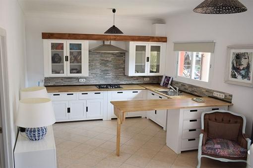 Offene Küche in einzigartigem Design