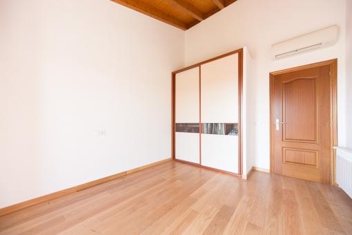 Bedroom with wardrobe