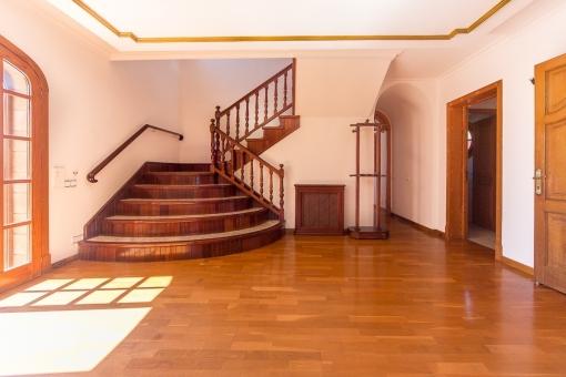 Eingangsbereich der Finca